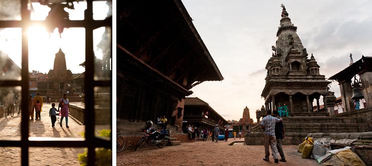 Bhaktapur, Durbar Square, Nepal, Shiva Guest House, Window