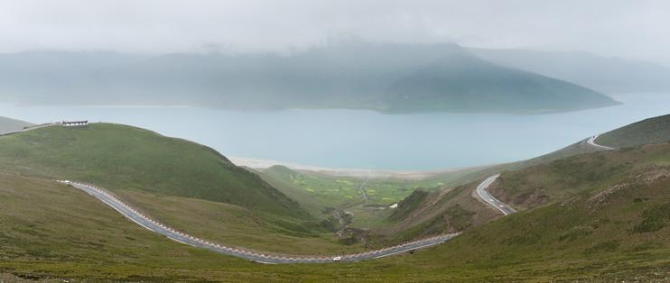 Friendship Highway, Yamdrok Tso