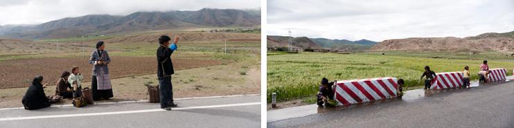 Friendship Highway, Tibet, Children