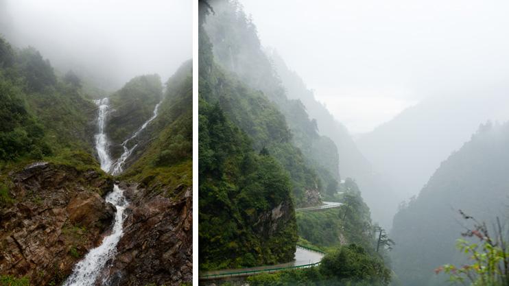 Friendship Highway, Waterfall, Nepal Border