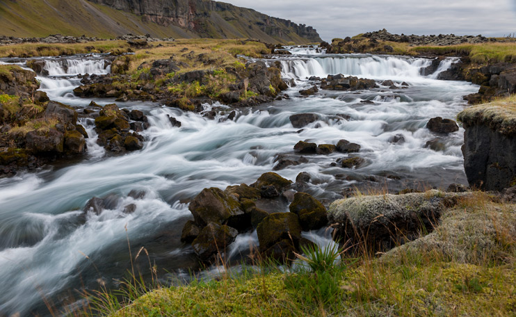 Iceland, Waterfall