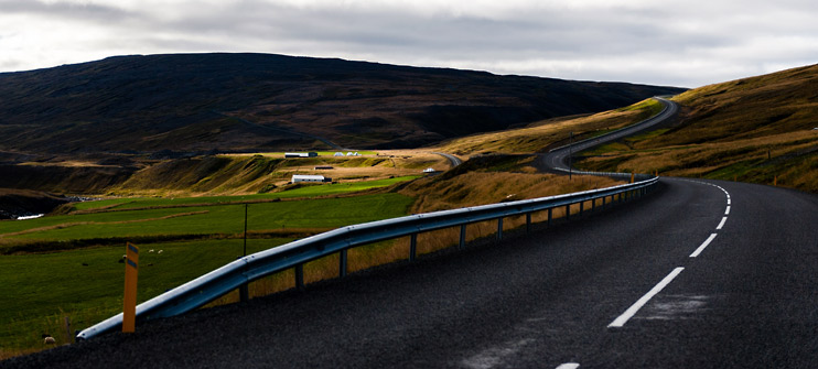 Highway, Iceland