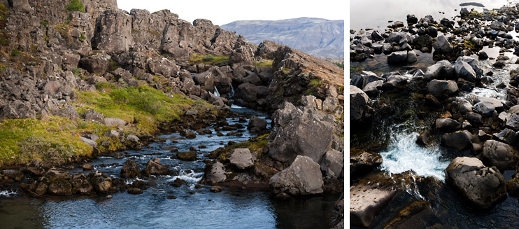 Iceland, Stream, Þingvellir National Park