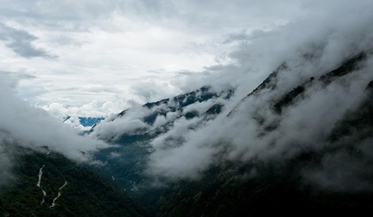 Clouds, Tibet, Zhangmu