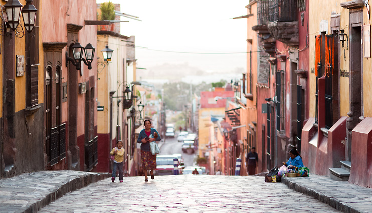 Cobble Stone, Mexico, San Miguel de Allende, Street