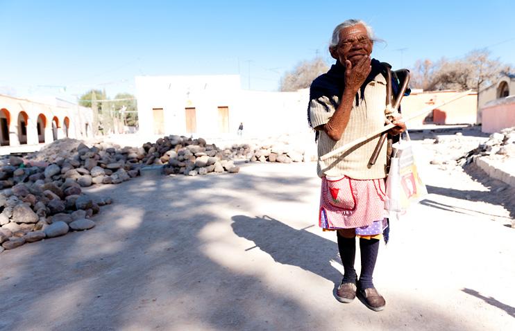 Atotonilco, Beggar, Mexico, Old Ladie, San Miguel de Allende