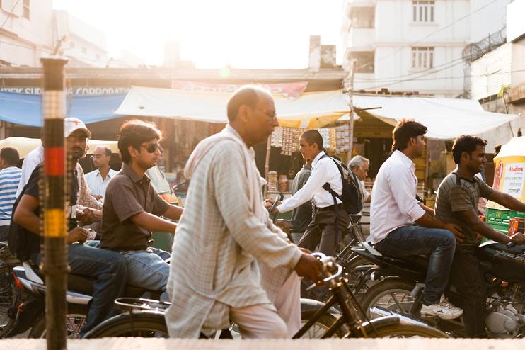 India, Traffic, Varanasi