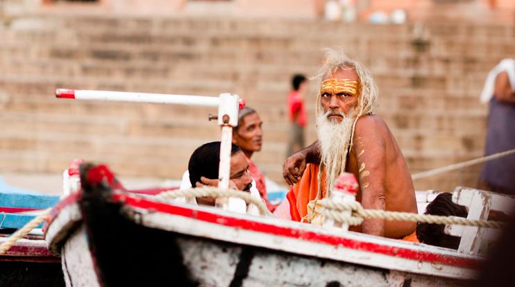 Boat, India, Varanasi