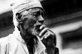 Bhaktapur, Durbar Square, Gai Jatra, Nepal, Old Man, Smoking