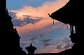 Bhaktapur, Durbar Square, Nepal, Sunset