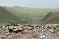 4800m Altitude, Friendship Highway, Garbage, Sacred Lake, Tibet, Yamdrok Tso