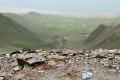 4800m Altitude, Friendship Highway, Garbage, Sacred Lake, Tibet, Yamdrok Tso