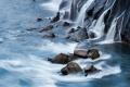 Hraunfossar Waterfall, Iceland, Waterfall