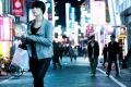 Japan, Shinjuku, Tokyo, Woman. Walking