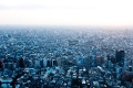 Japan, Northen Observatory, Skyline, Twilight