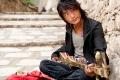 Dramyin, Drepung Monastery, Tibet, Tibetan Musician