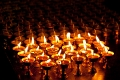 Assembly Hall, Drepung Monastery, Lhasa, Tibet, Yak Butter Lamps