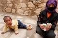 Beggar, Child, Drepung Monastery, Lhasa, Tibet, Woman