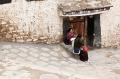 Building, Door, Drepung Monastery, Lhasa, Tibet, Women