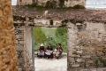 Drepung Monastery, Lhasa, Stone Wall, Tibet, Women