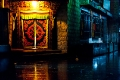 Alley, Doorway, Lhasa, Rain, Tashi Choten Hotel, Tibet
