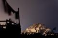 Lhasa, Potala Palace, Prayer Flags, Tibet