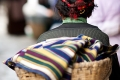 Basket, Market, Shigatse, Tibet, Tibetan Woman