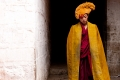 Monk, Shigatse, Tashilhunpo Monastery, Tibet, Yellow Hat