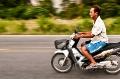 Krabi, Thailand, Motorcycle, Blur