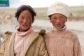 Beggar, Children, Tibet, Tingri, Worn