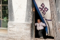 Child, Doorway, Peek-A-Boo, Tibet, Tingri