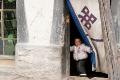 Child, Doorway, Peek-A-Boo, Tibet, Tingri