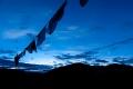 Clouds, Early Morning Light, Hill, Tibet, Tingri