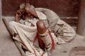 India, Sleeping, Varanasi