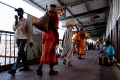 India, Train Station, Varanasi